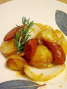 """""""German potato with honey mustard"""" - japanese recipe/おつまみにも!ジャーマンポテトハニーマスタードかけ"""