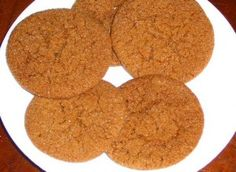 Yacon Syrup Ginger Cookies