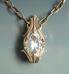 """Phial of Galadriel Necklace Lord of the Rings by """"asilomarworks"""".  Fantasy, yet undeniably lovely."""