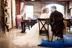 Doctor Who-inspired Wedding Photo Shoot | Her dress is lovely!