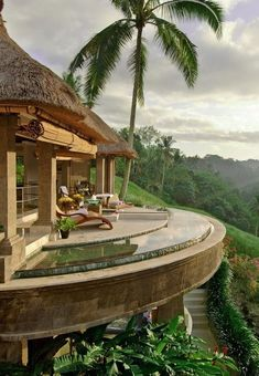 Bali. Overlooking the forest