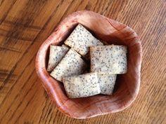 Vegan chia crackers glutenfree