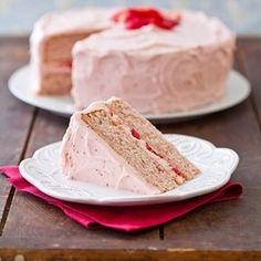 strawberri dream, strawberry cakes, dream cake, americas test kitchen, sweet treats, strawberries, cake recipes, summer recipes, birthday cakes