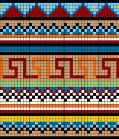 loom patterns    source:google.