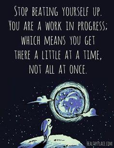 always a work in progress........