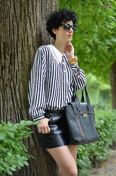 #fashion #fashionista Borjana bianco nero