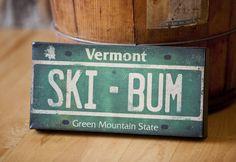 Vermont ski bum.
