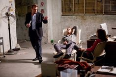 Inception - Behind the scenes photos