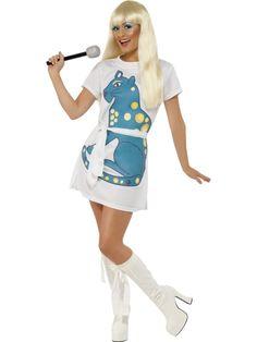 Disco girl /ABBA  costume