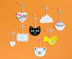 Blank Gift Tags - ideas