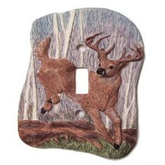 Image Detail for - Deer Light Switch Cover