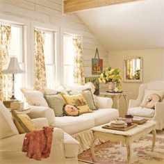 Country Living room...