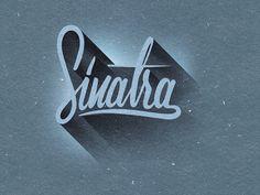 Dribbble - Project365 #81 Sinatra by bijdevleet