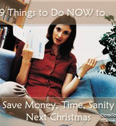 9 things to do before Christmas to save money, time, and sanity