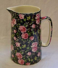 chintz china pitcher