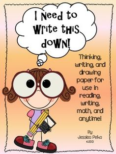 FREE!  Thinking Paper:  Teaching children how to think, not what