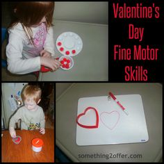 Valentine's Day Fine Motor Skills from Something 2 Offer