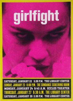 """""""Girlfight,"""" directed by Karyn Kusama played #Sundance 2000"""