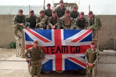 First Troop, C Squadron, The Kings Royal Hussars in Lashkar Gah, get behind our Olympic athletes from their base in Afghanistan.