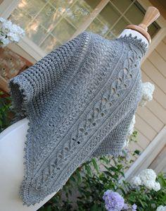 Vogue Knitting Lace Shawl ... Gorgeous