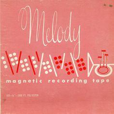 Melody vintage album cover