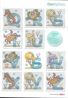 Sea alphabet 3