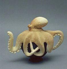 Beautiful octopus teapot