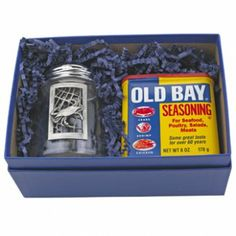 Old Bay Crab Feast 2 Piece Set - Perfect for a Baltimore dad