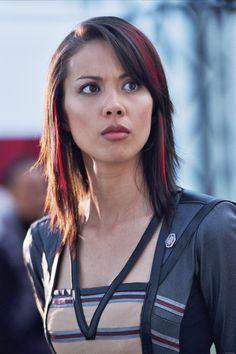 Lexa Doig   Lexa Doig starred as the ship's avatar on Andromeda , the sci-fi ...