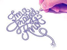 I'm a Frayed Knot.