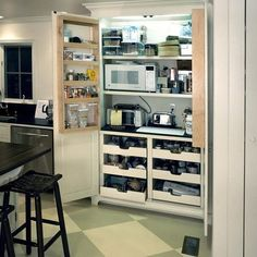 Pantry Closet Design, Pictures, Remodel, Decor and Ideas - page 18