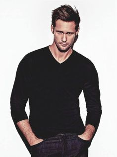 Alexander Skarsgård. Something about tall Swedish men :P