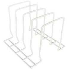 Mainstays Organizer Rack, White