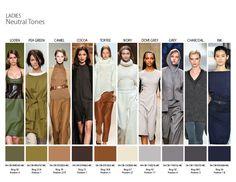 Fall/Winter 2014 Color Trends - Ladies Neutral tones