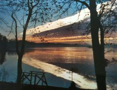 Luanne Stencil took this photo of Long Lake in White Lake Township in January 2012.
