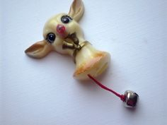 Vintage Reindeer Rudolph plastic Brooch Pin Light Up  1960's    I HAD ONE OF THESE!!!!  thanks for the memory :-)