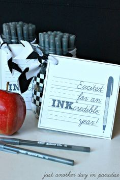 Just Another Day in Paradise: Teacher Gift: An INKcredible Year