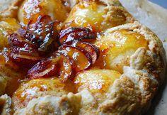 Free~Formed also known as Rustic Fruit Tarts. This is a Bartlett Pear Tart, can we all say yummmmmmmmmmmmmm