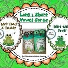 FREE!! Frog and Toad: Sort Long and Short Vowel Words  This is a free center where students can practice reading and sorting words with long and sh...