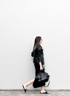 all black #minimal #style #outfit