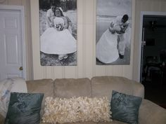 DIY Large Picture Canvas Art!! (VERY Cheap and easy)!!