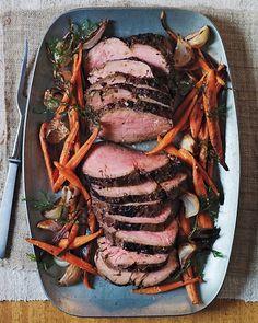 Marinated Beef Tenderloin - Martha Stewart Recipes