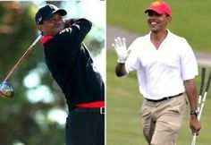 Tiger Woods and President Obama Reportedly Play Golf Together for 1st Time