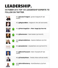 Top 9 on Twitter - Congratulations @Ramikantari coming in #4 read more here http://bit.ly/Twitter_Leadership | Find Out More http://xeeme.com/RamiKantari