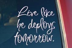 military spouse, soldier, armi, militari life, deploy tomorrow