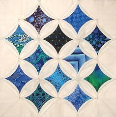 cathedral window quilt class