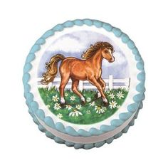 edible image w/horse