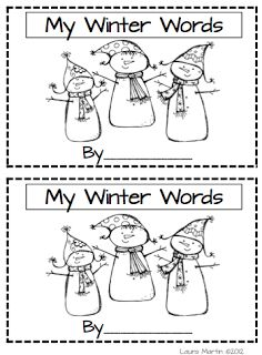Classroom Freebies Too: Winter Vocabulary