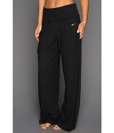 Nike Ace Wide Yoga Pant Black/Black - talk about comfy.