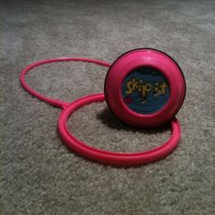 I may not have been good at hula hooping, but I rocked it out with my Skip it